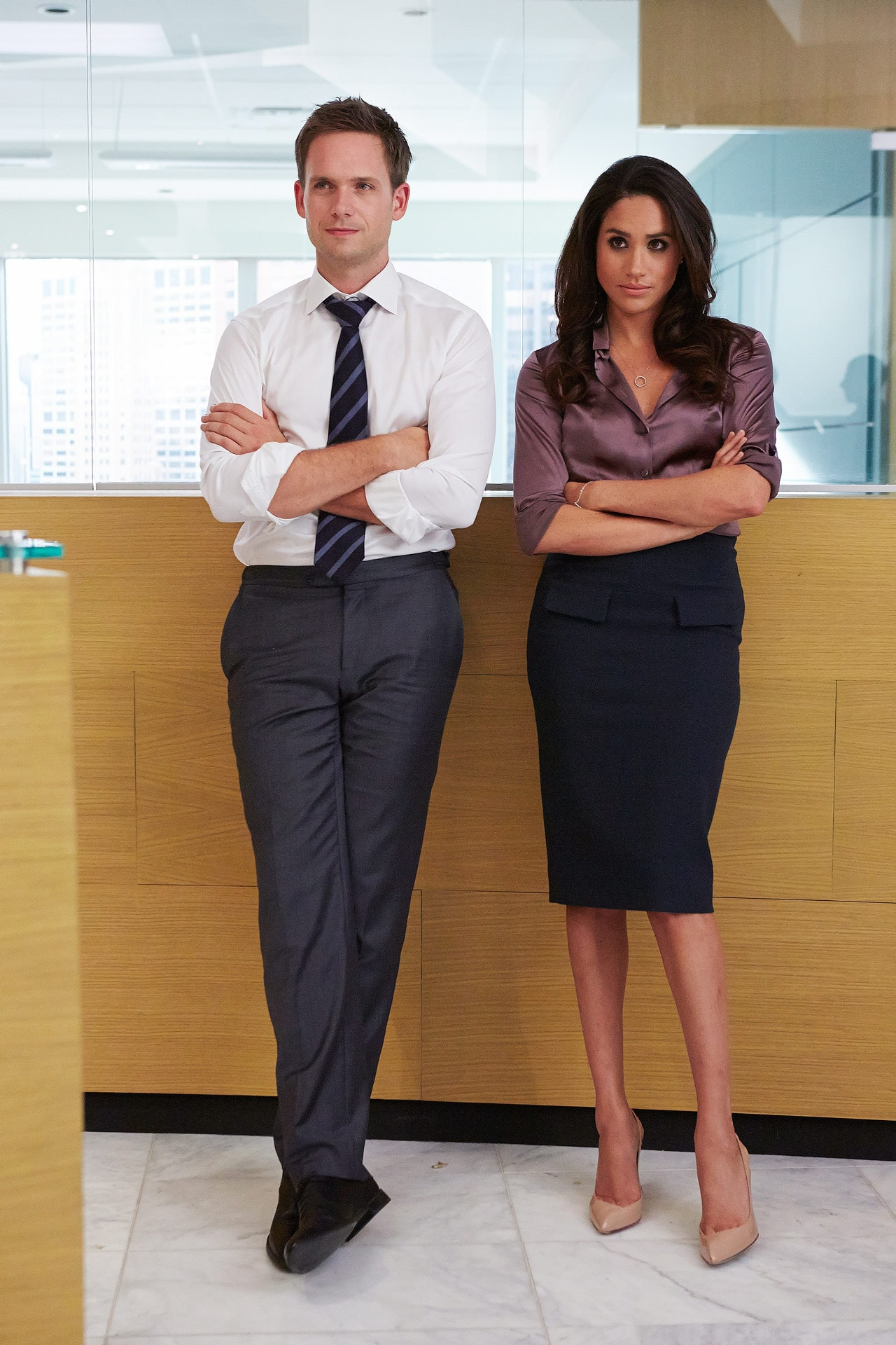 Patrick J Adams hints at how Rachel and Mike will leave Suits