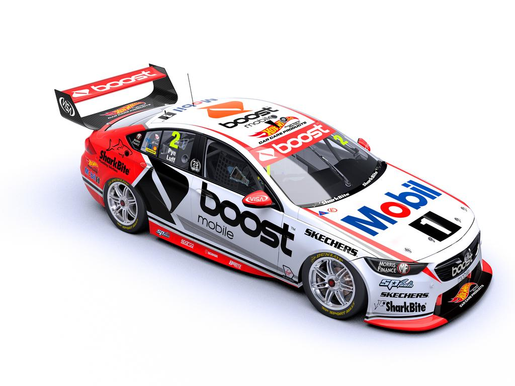Pye and Luff finished second in last year's Bathurst 1000. Pic: SS Media