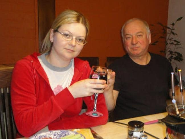 Ex-Russian spy Sergei Skripal, 66, and his daughter Yulia, 33, were both poisoned in a nerve agent attack. Picture: Supplied