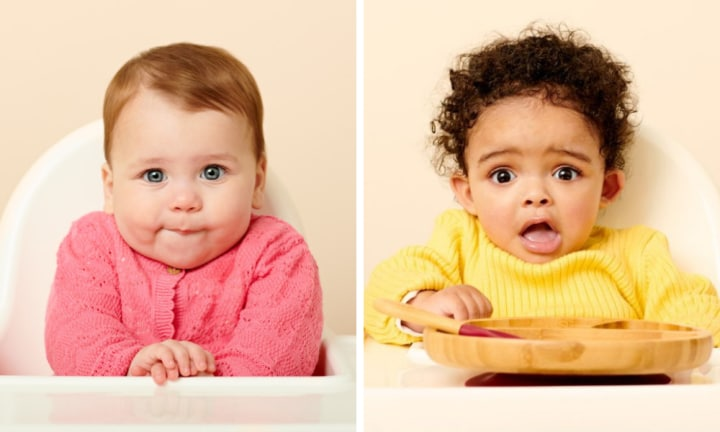 Nine baby feeding faces every parent needs to know, and what they mean