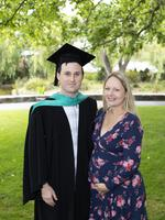 Ike Sulzberger and Maddison Sulzberger at the UTAS Graduation at Launceston. PICTURE CHRIS KIDD