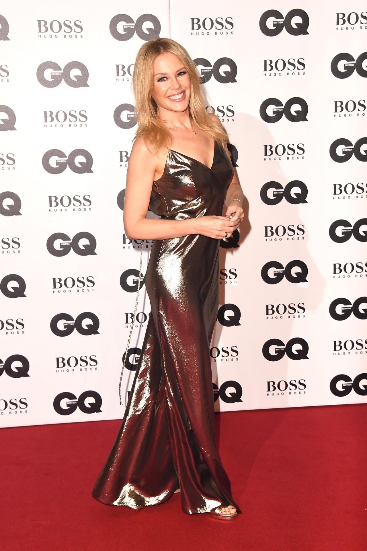 Kylie Minogue at the GQ Men of the Year awards in London. Image credit: Getty Images