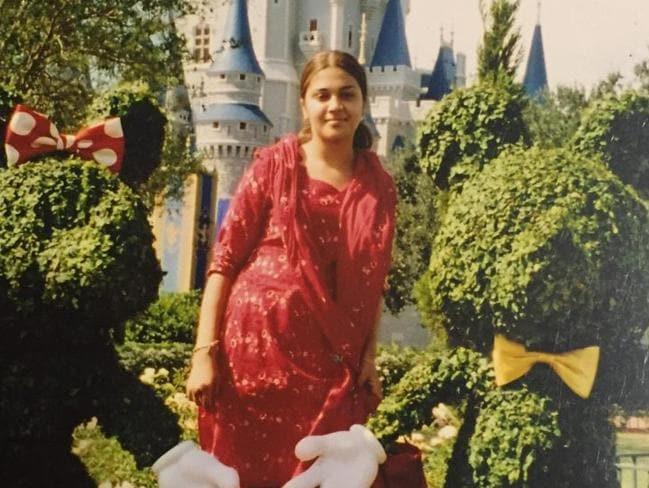 Naila at Disneyland Picture: Naila Amin