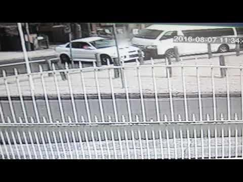 CCTV Footage Shows Fatal Crash at Punchbowl. Credit - NSW Police Force via Storyful