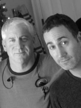 Cinematographer Michael Barrett, right, is reportedly dating Anna Faris. Picture: Supplied