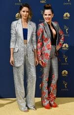 Amanda Crew attends the 70th Emmy Awards at Microsoft Theater on September 17, 2018 in Los Angeles, California. (Photo by Frazer Harrison/Getty Images)