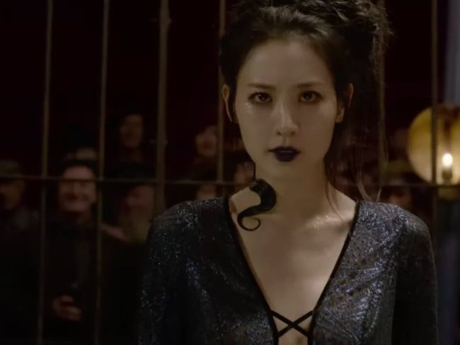 Claudia Kim will bring the snake to life.