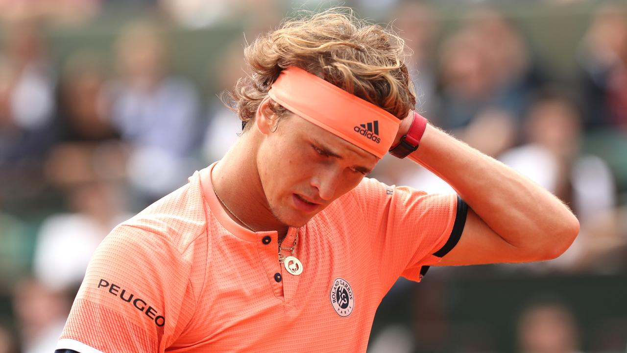 Zverev looks like every Queensland supporter will later tonight.