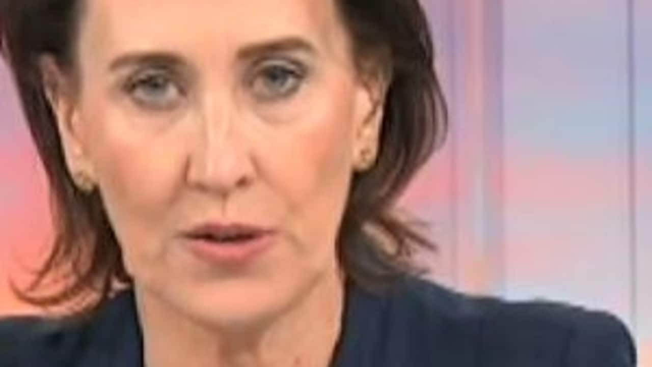 Virginia Trioli grilled Scott Morrison on morning TV. Picture: ABC