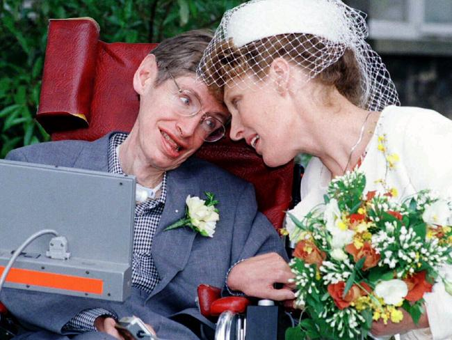 Hawking had a colourful love-life, divorcing his first wife for his nurse Elaine Mason (pictured), causing acrimony with his children, before they too split in 2006.