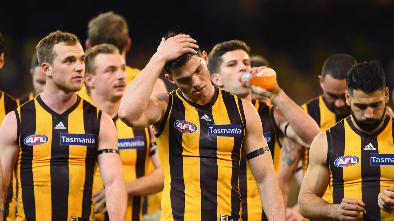 Jaeger O'Meara is out of the huge match against Melbourne. Photo: Quinn Rooney/Getty Images.
