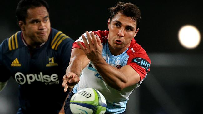 Waratahs halfback Nick Phipps suffered an ankle injury in the loss to the Highlanders.