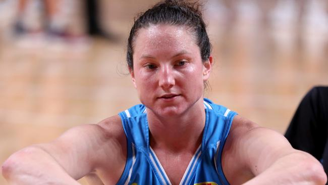 Kelsey Griffin will have to get back up and focus on game three in Canberra.