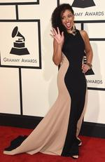 Mya attends The 58th GRAMMY Awards at Staples Center on February 15, 2016 in Los Angeles. Picture: AP
