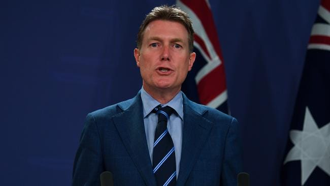 Attorney-General Christian Porter says the Government is fed up with companies underpaying staff. Picture: AAP Image/Paul Braven