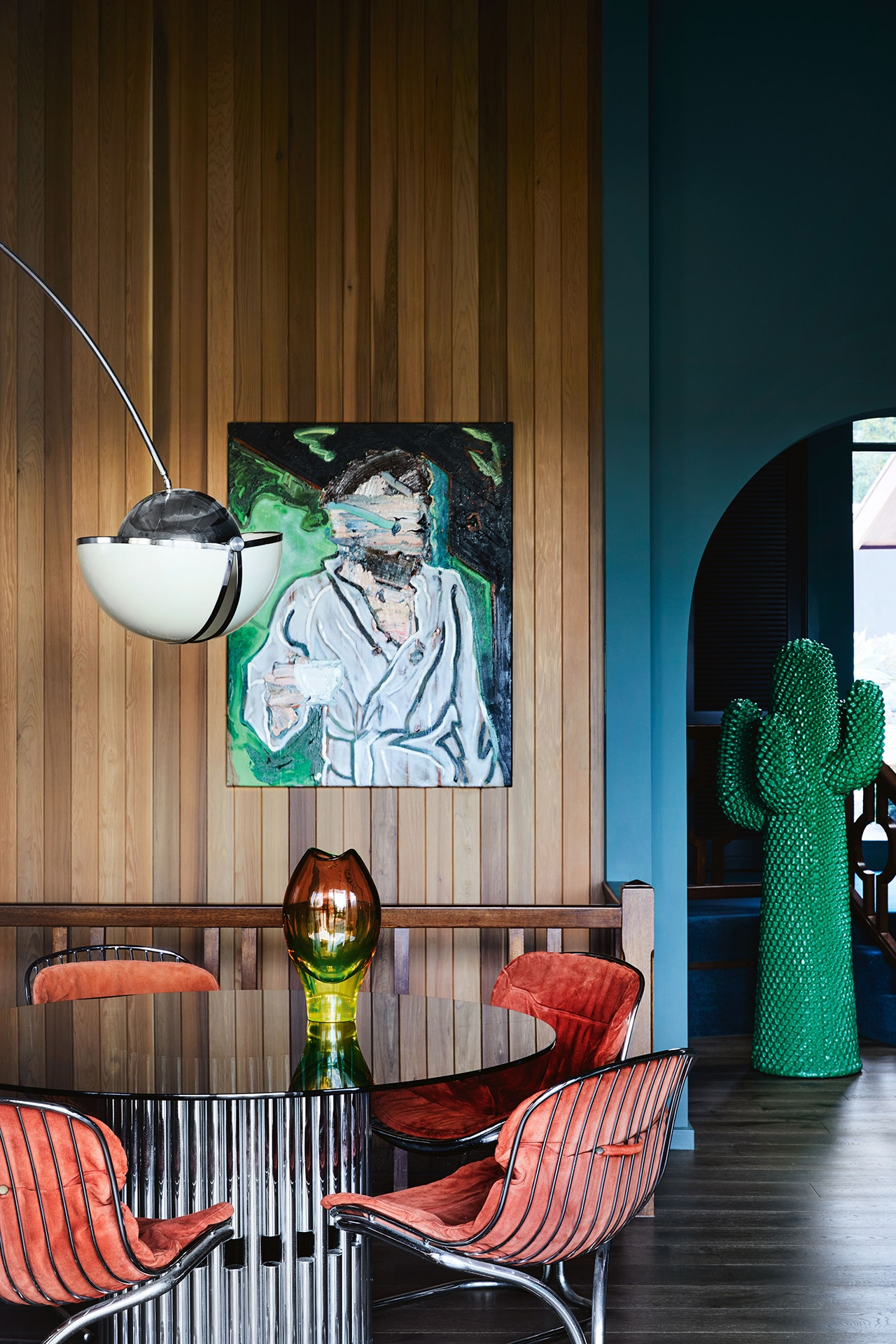 House tour: an ode to 1970s chic and feng shui principles