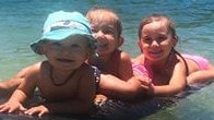 Hannah Clarke's beautiful children Trey, Laianah and Aaliyah. Picture: Supplied