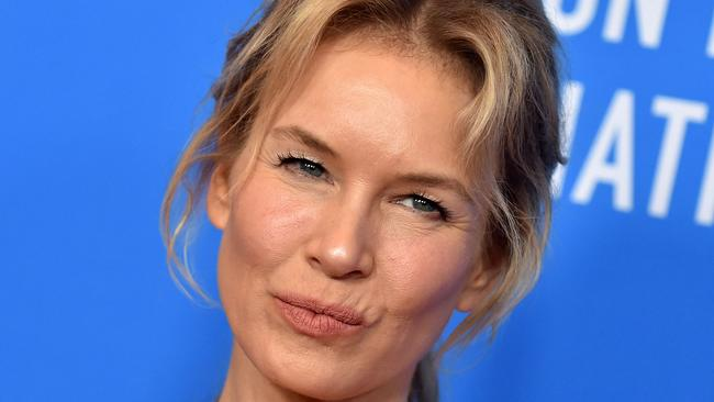 Zellweger in July of this year: 'She looks like herself again.' Picture: Lisa O'CONNOR / AFP