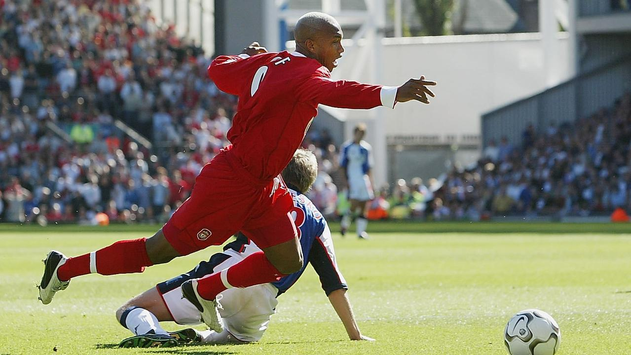 Diouf was never too far away from controversy - whether that involved on-field clashes, trouble with fans or even constant diving.
