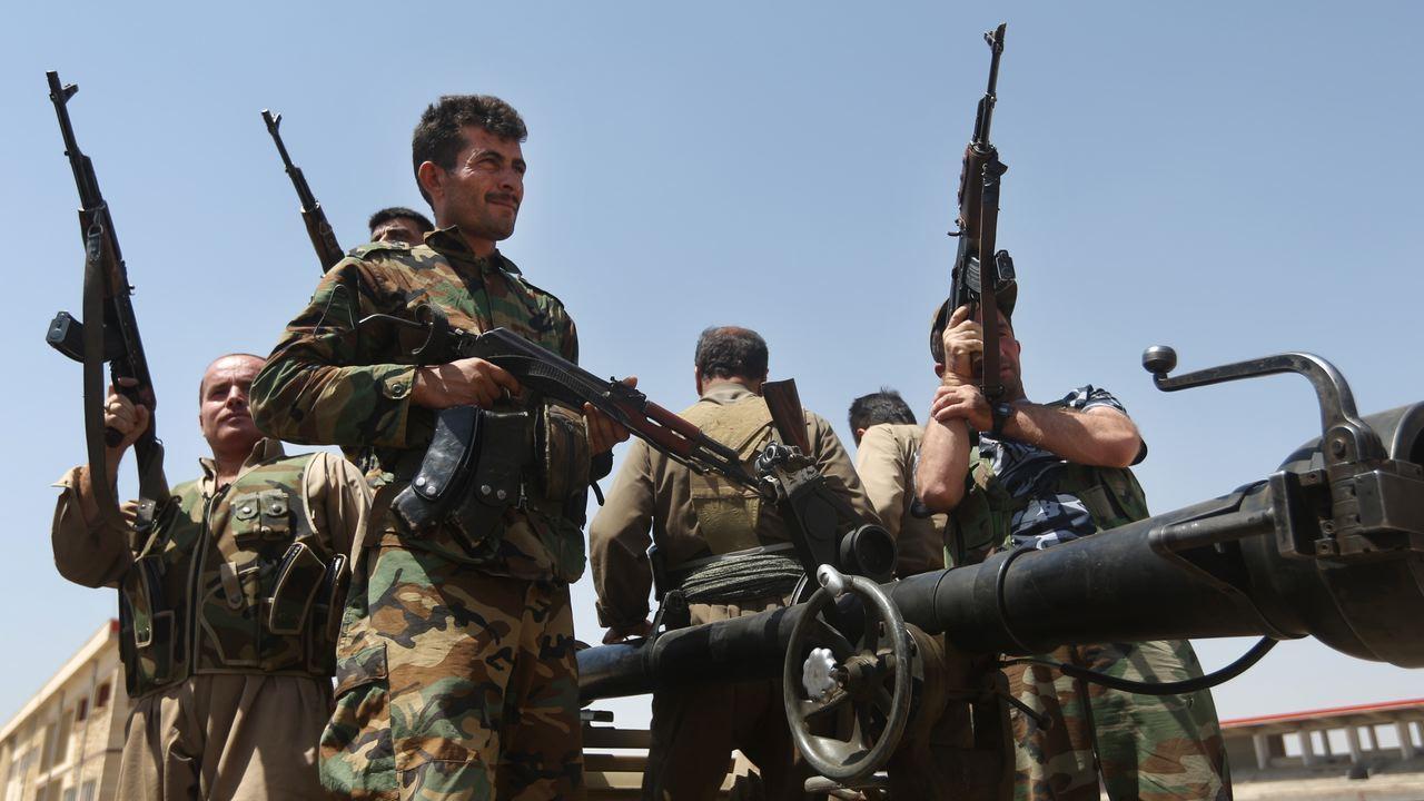 Can Kurdish Fighters Battle Islamic State?