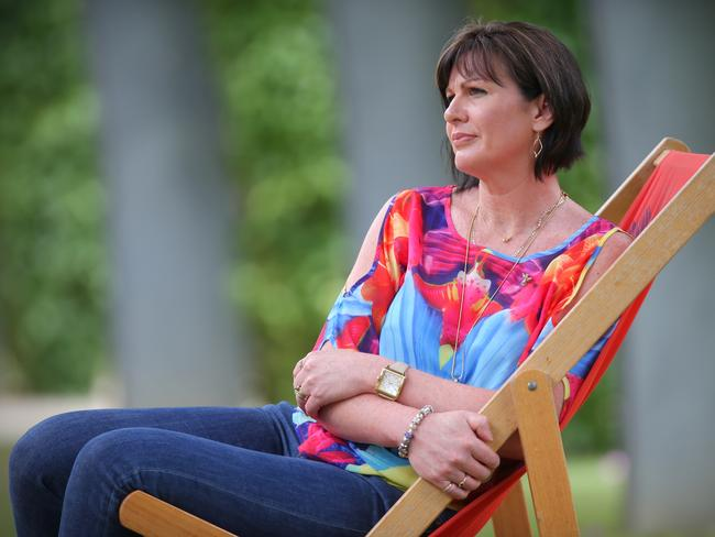 Jeanette Maguire is waiting patiently for answers about what happened to MH370. Picture: Jamie Hanson