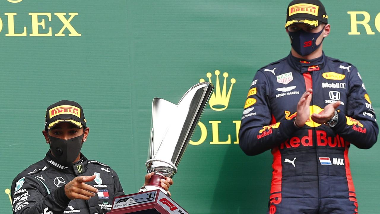 Max Verstappen is being tipped for a title push. (Photo by FRANCOIS LENOIR / POOL / AFP)