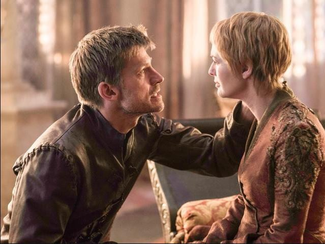Jamie and Cersei Lannister. Picture: HBO via Foxtel