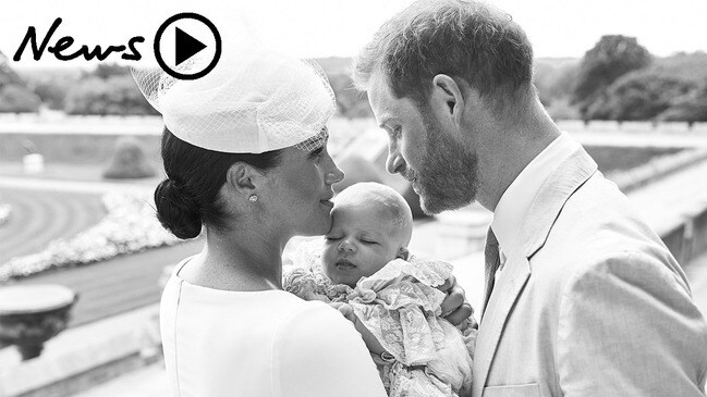 Meghan and Harry christen baby Archie: First photos released