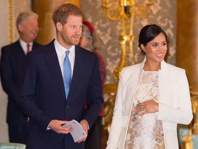 The Duke and Duchess of Sussex may be heading to Africa for two years after the birth of their child. Picture: Getty Images