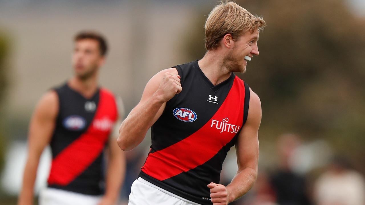 Essendon knocked off Geelong in the Marsh Community Series. (Photo by Michael Willson/AFL Photos via Getty Images)