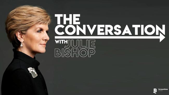 The Conversation with Julie Bishop is being shopped around the networks.