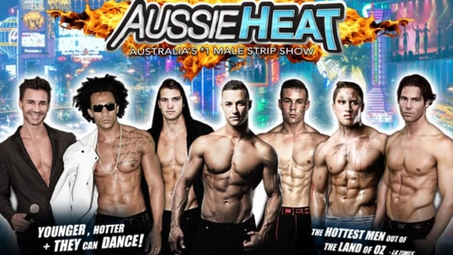 The boys from Aussie Heat.