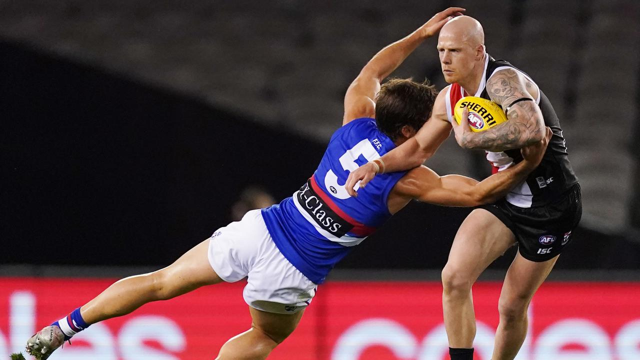 Zak Jones is one of the players St Kilda recruited. Photo: Michael Dodge/AAP Image.