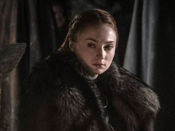 Sansa Stark (Sophie Turner) in episode 3 of the final season of Game of Thrones Picture: HBO