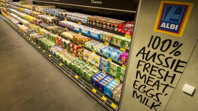 Aldi's strategy of having far fewer products than established supermarkets has paid off — so far.