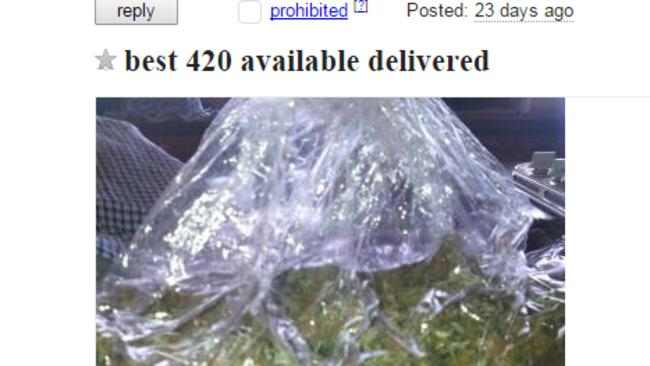 Drug dealers are using website Craigslist to openly buy and sell