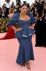 Paloma Elsesser attends The 2019 Met Gala Celebrating Camp: Notes on Fashion at Metropolitan Museum of Art on May 06, 2019 in New York City. (Photo by Jamie McCarthy/Getty Images)