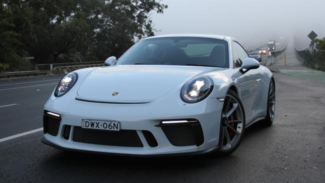 Big spinner: The 911 GT3 Touring ditches the turbo.