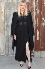Courtney Love attends the New York Fashion Week Spring/Summer 2016 Givenchy fashion show. Picture: Getty