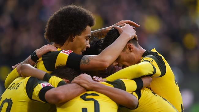 Dortmund were 3-0 up after 66 minutes! What a disaster.