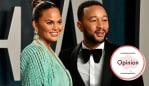 Chrissy Teigen and John Legend. Image: Getty