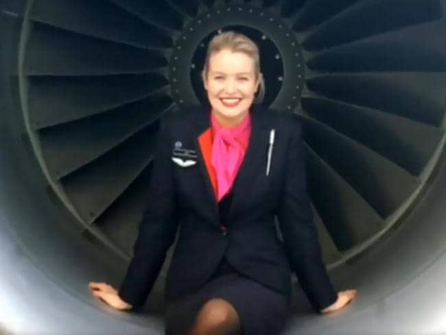Working for Qantas was a dream job for Hannah Rowlands.
