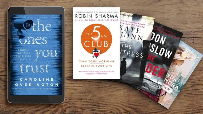 Choose one of these five great new reads for your +Rewards complimentary eBook this month.