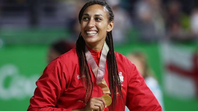 Geva Mentor won Commonwealth Games gold with England.