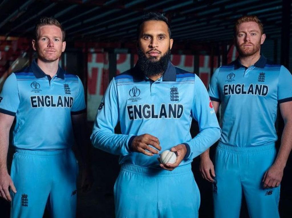 England's ODI cricket world cup kit