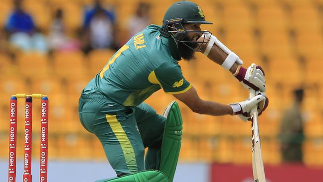 South Africa have stuck by Hashim Amla.