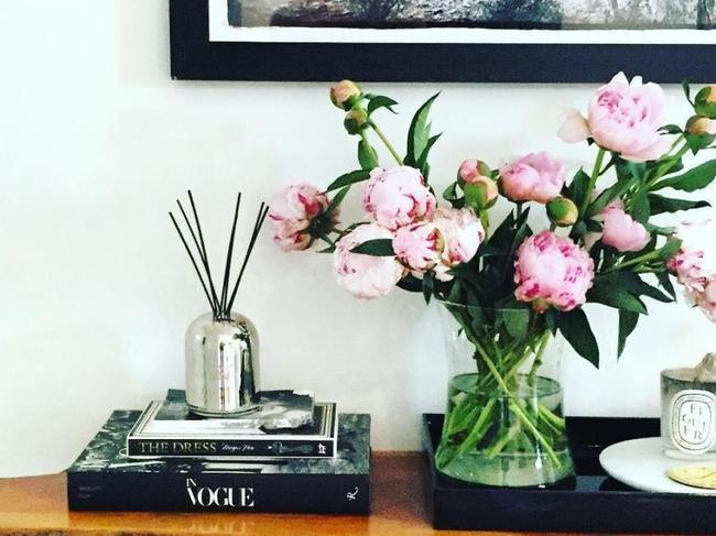 She also shared photos showing her decorating style. Picture: Instagram