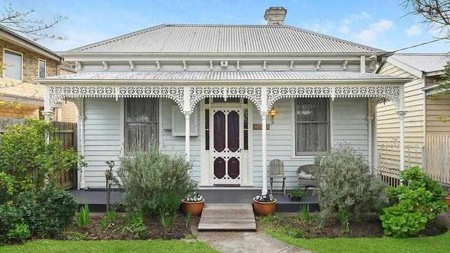 The picturesque facade 81 McKillop St, Geelong. Picture: Supplied.