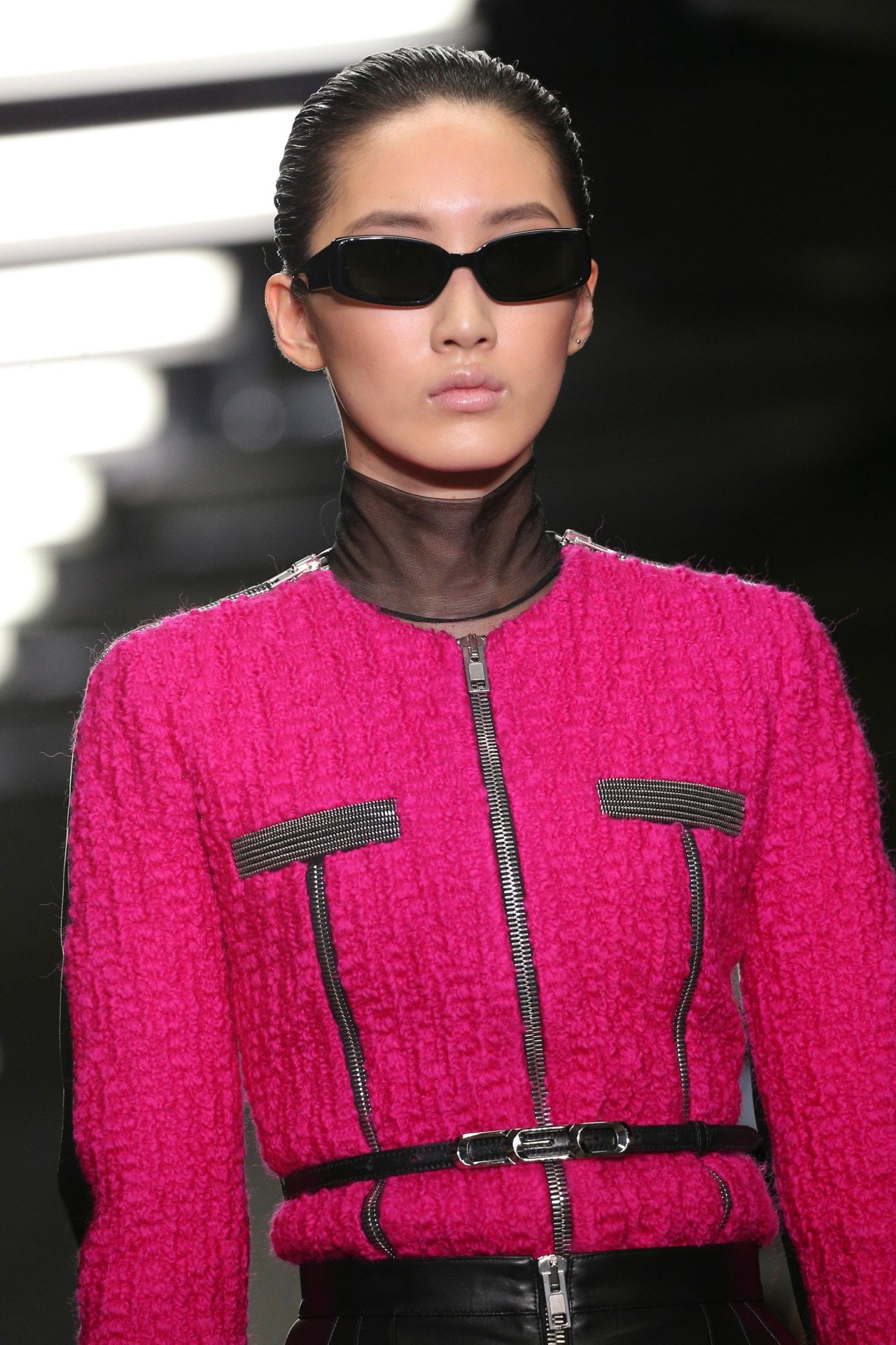 Sheer turtlenecks are officially the biggest cool-weather fashion trend