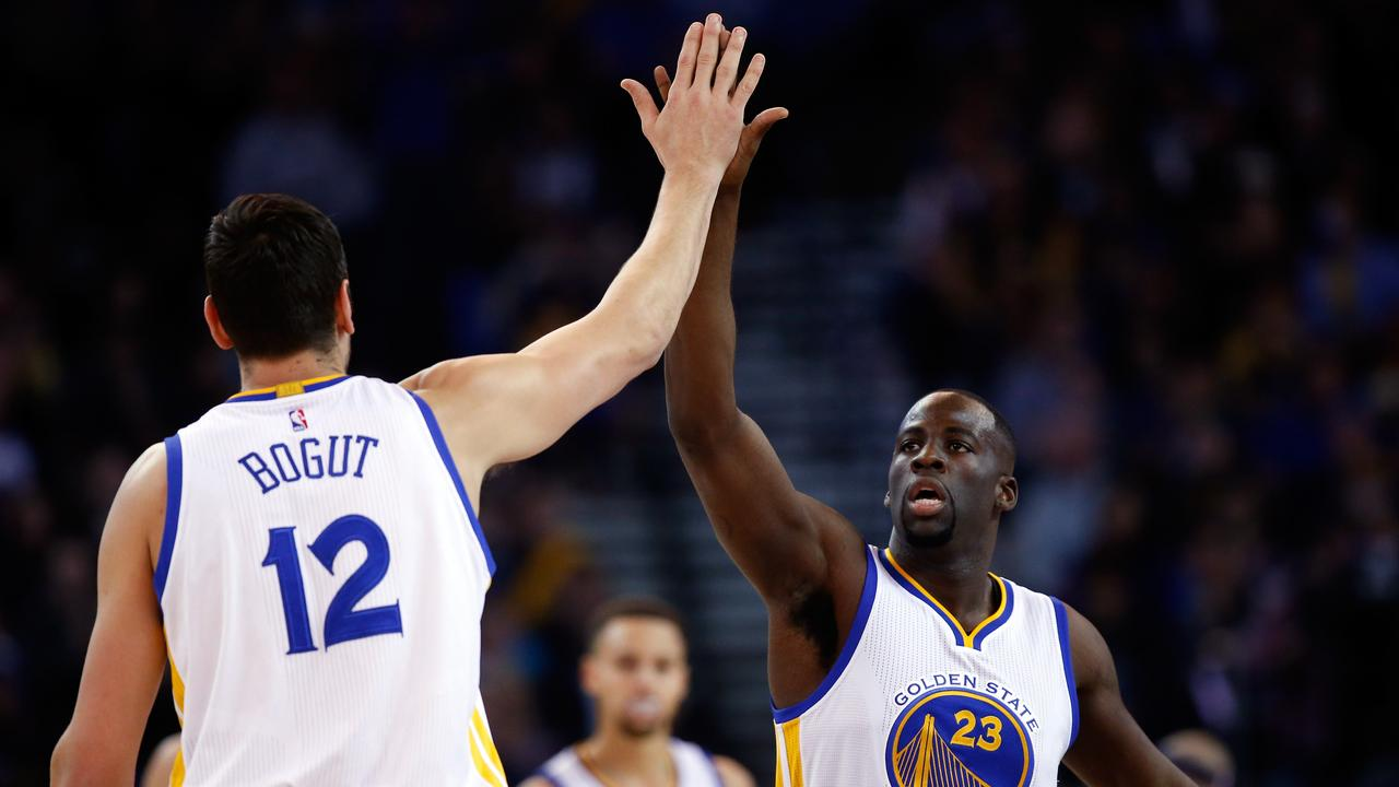 Up top: Green credits Bogut for helping him re-shape his defensive game.